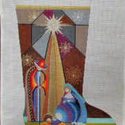 DB 21 Holy Family Stocking